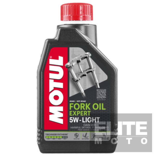 Motul Expert Semi-Synthetic Fork Oil 5w