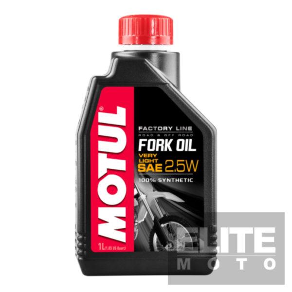 Motul Factory Synthetic Fork Oil 2.5w