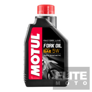 Motul Factory Synthetic Fork Oil 5w