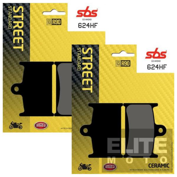 SBS 624HF Ceramic Front Brake Pads