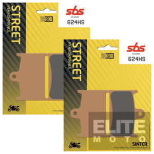 SBS 624HS Sintered Front Brake Pads