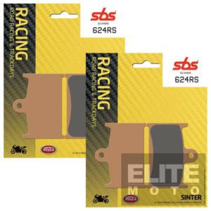 SBS 624RS Race Sinter Front Brake Pads