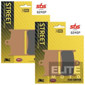 SBS 624SP Evo Sinter Front Brake Pads