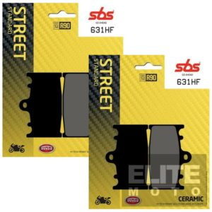 SBS 631HF Ceramic Front Brake Pads