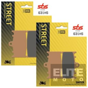 SBS 631HS Sintered Front Brake Pads