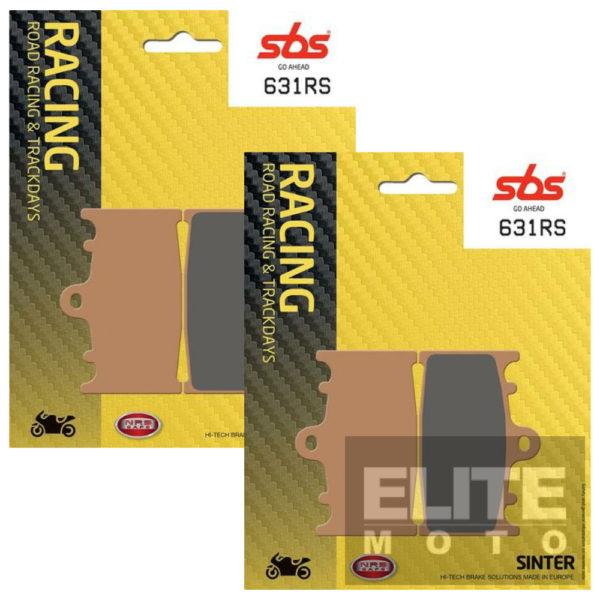 SBS 631RS Race Sinter Front Brake Pads