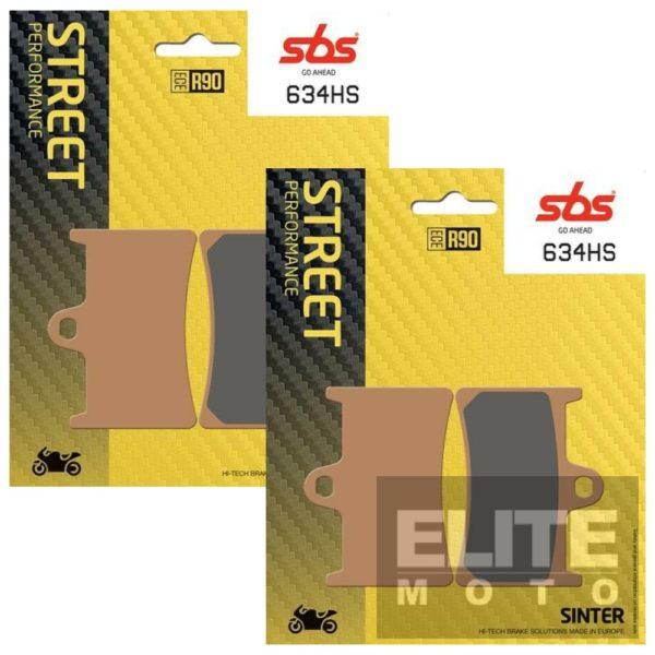 SBS 634HS Sintered Front Brake Pads