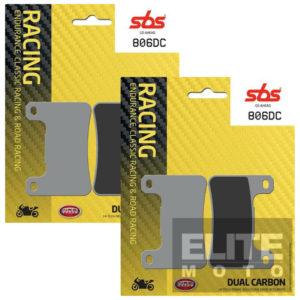 SBS 806DC Dual Carbon Front Brake Pads