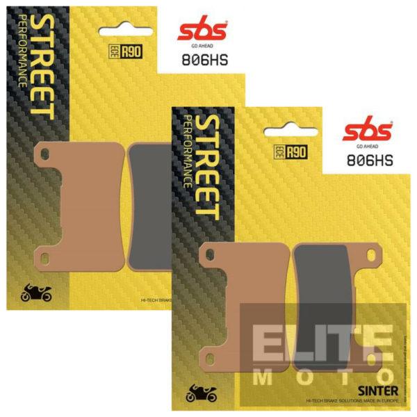 SBS 806HS Sintered Front Brake Pads