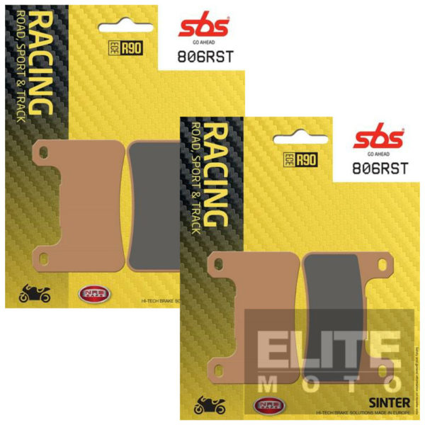 SBS 806RST Race Sinter Front Brake Pads