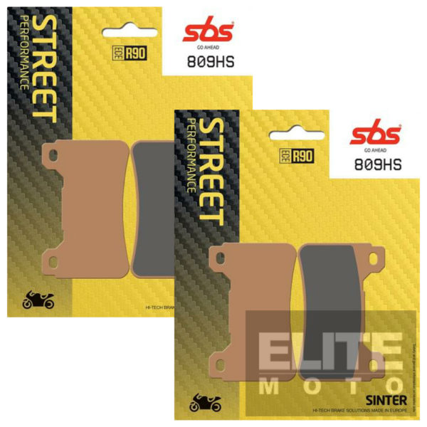 SBS 809HS Sintered Front Brake Pads