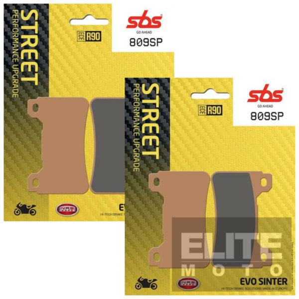 SBS 809SP Evo Sinter Front Brake Pads