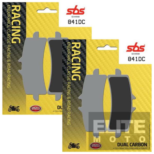 SBS 841DC Dual Carbon Front Brake Pads