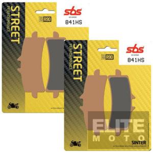 SBS 841HS Sintered Front Brake Pads