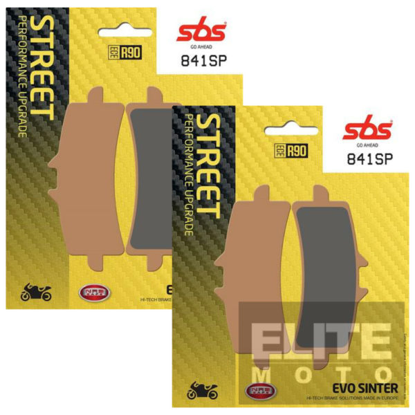 SBS 841SP Evo Sinter Front Brake Pads