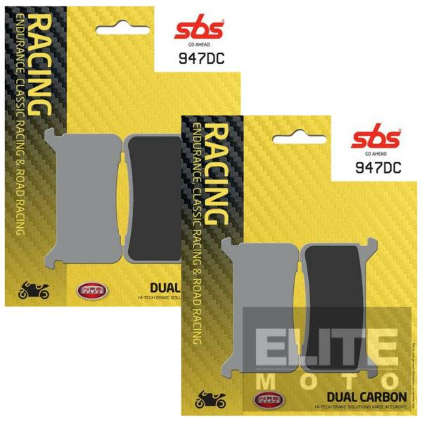 SBS 947DC Dual Carbon Front Brake Pads
