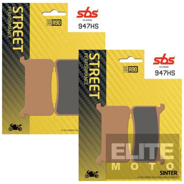 SBS 947HS Sintered Front Brake Pads
