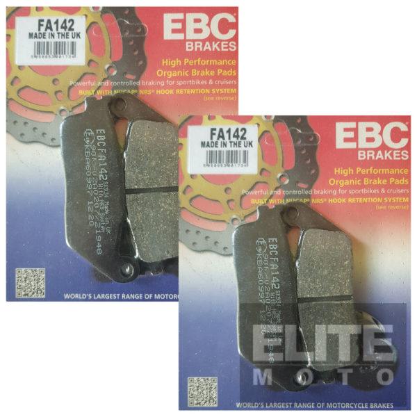 EBC FA142 Organic Front Brake Pads