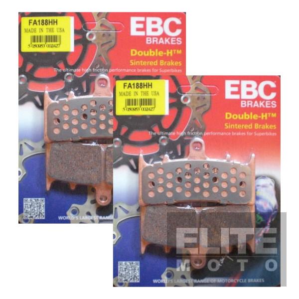 EBC FA188HH Sintered Front Brake Pads