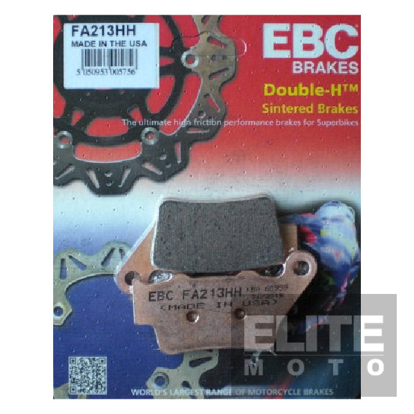 EBC FA213HH Sintered Rear Brake Pads