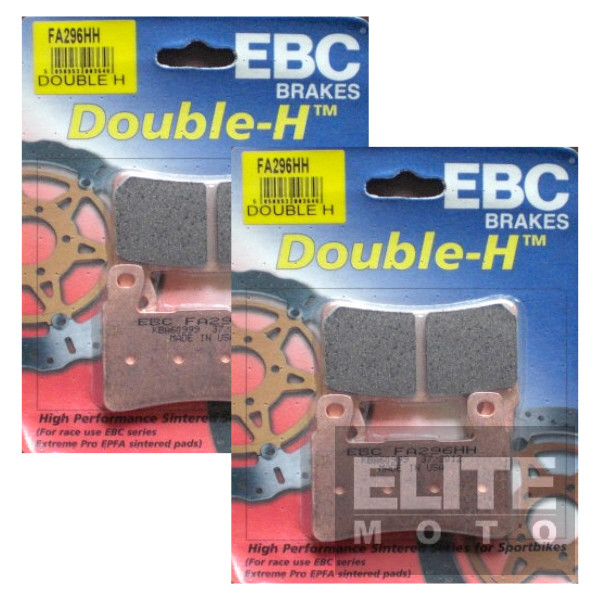 EBC FA296HH Sintered Front Brake Pads