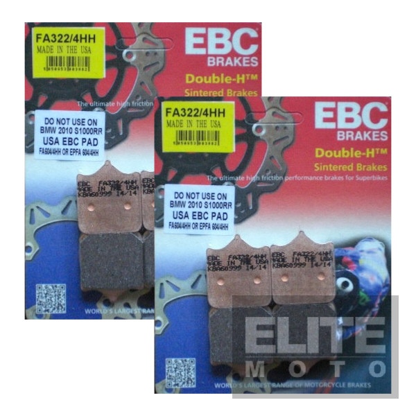 EBC FA322/4HH Sintered Front Brake Pads