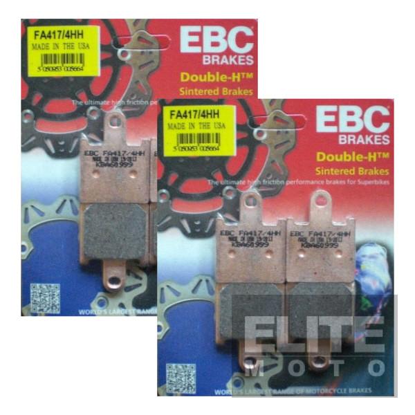 EBC FA417/4HH Sintered Front Brake Pads