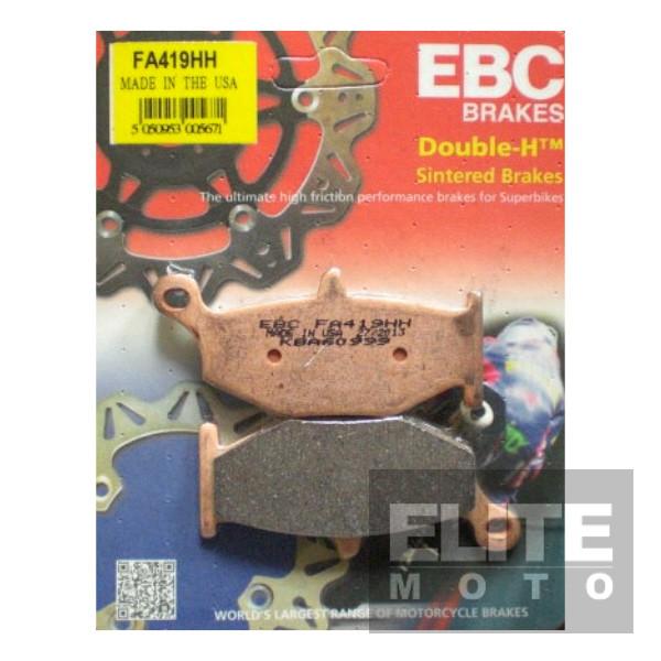 EBC FA419HH Sintered Rear Brake Pads