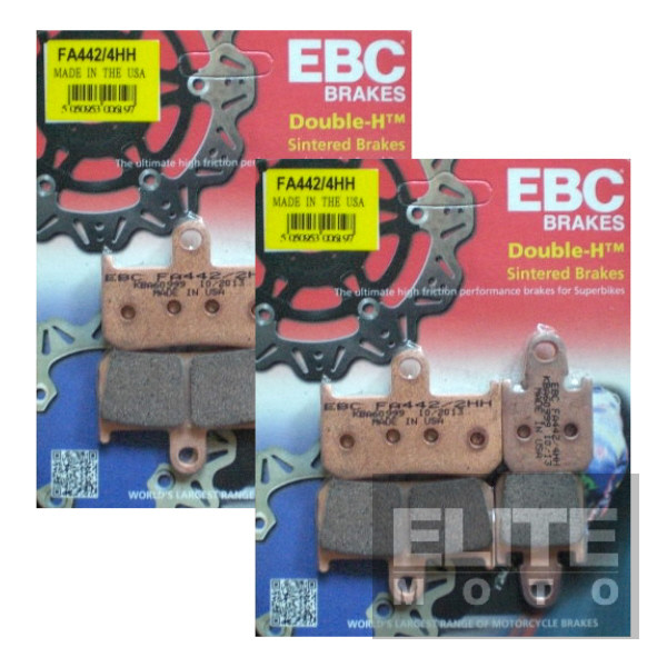 EBC FA442/4HH Sintered Front Brake Pads