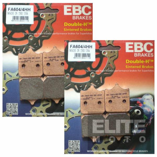 EBC FA604/4HH Sintered Front Brake Pads