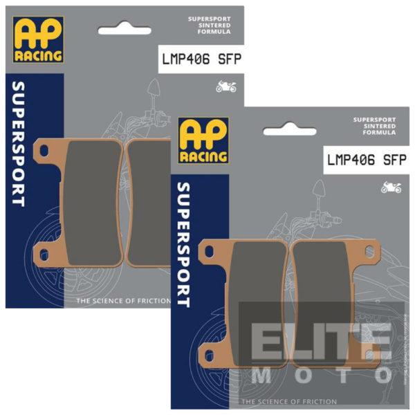 AP Racing 406SF Sintered Front Brake Pads