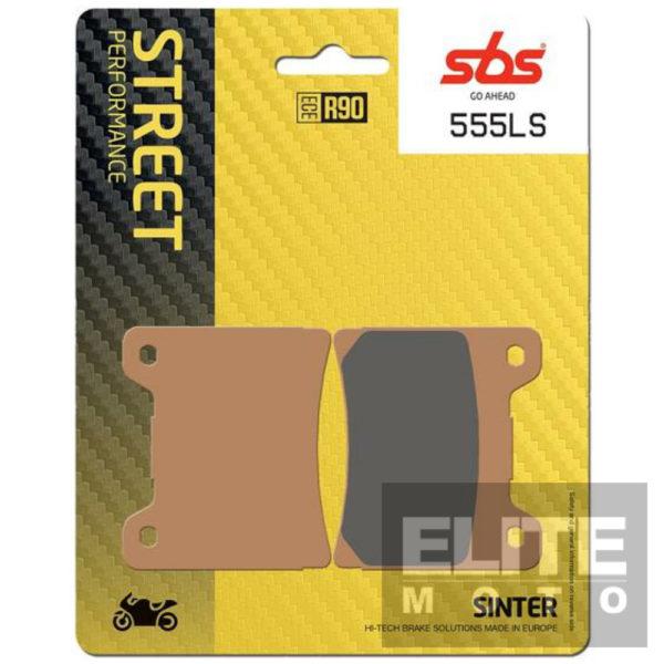 SBS 555LS Sintered Rear Brake Pads