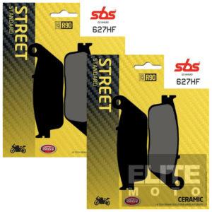 SBS 627HF Ceramic Front Brake Pads