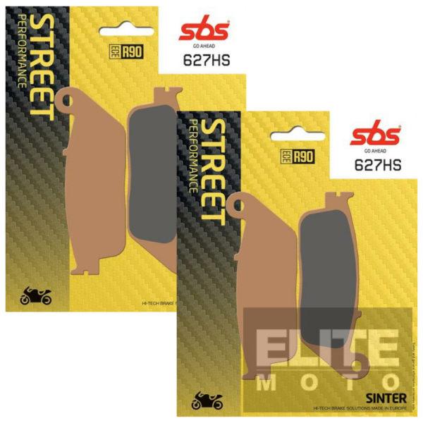 SBS 627HS Sintered Front Brake Pads