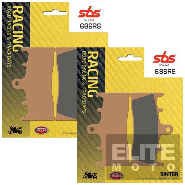 SBS 686RS Race Sinter Front Brake Pads
