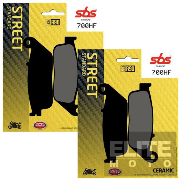 SBS 700HF Ceramic Front Brake Pads
