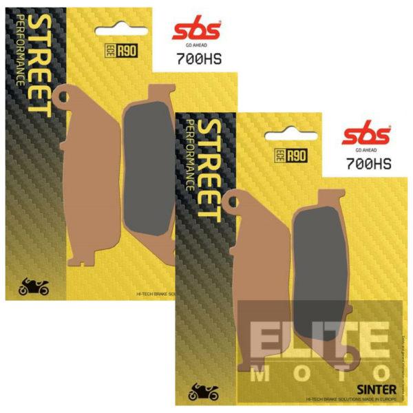 SBS 700HS Sintered Front Brake Pads