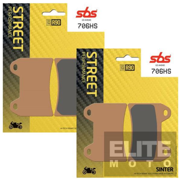 SBS 706HS Sintered Front Brake Pads