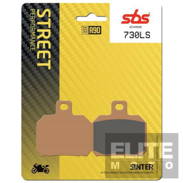SBS 730LS Sintered Rear Brake Pads