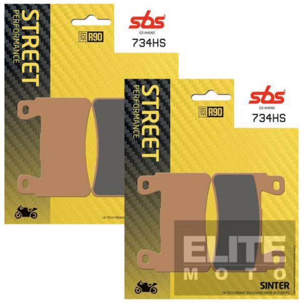 SBS 734HS Sintered Front Brake Pads