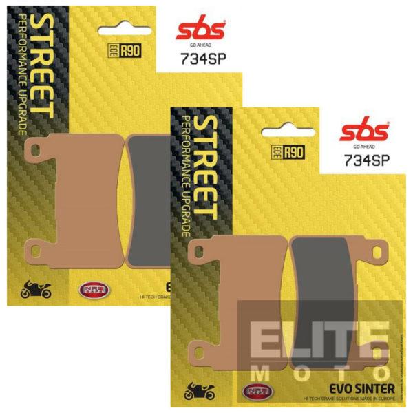 SBS 734SP Evo Sinter Front Brake Pads