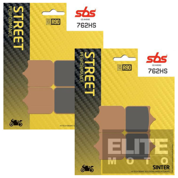 SBS 762HS Sintered Front Brake Pads