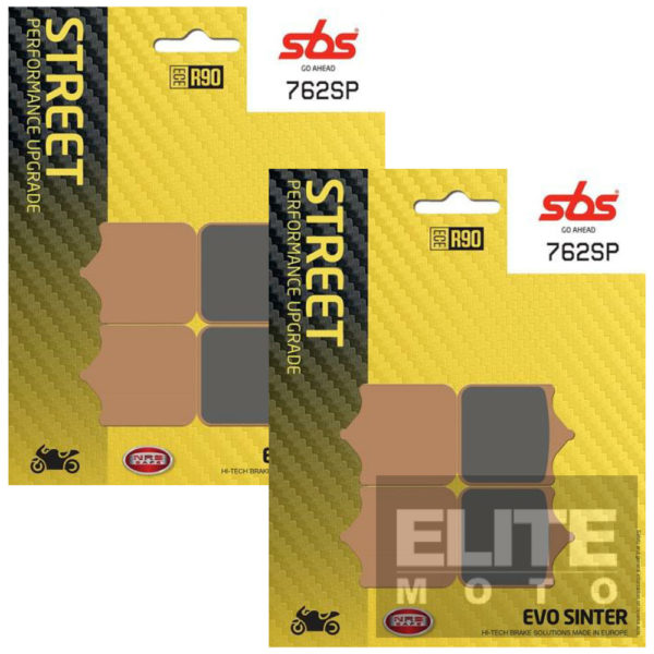 SBS 762SP Evo Sinter Front Brake Pads