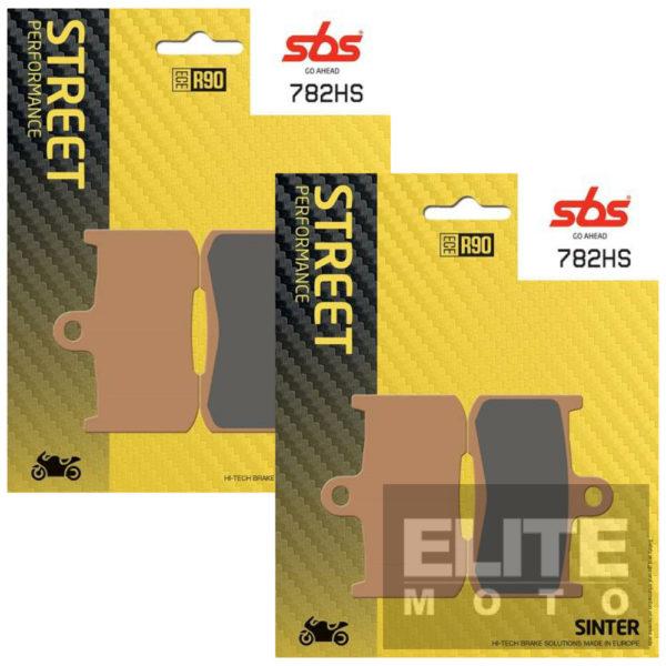 SBS 782HS Sintered Front Brake Pads