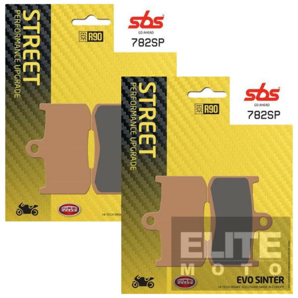 SBS 782SP Evo Sinter Front Brake Pads