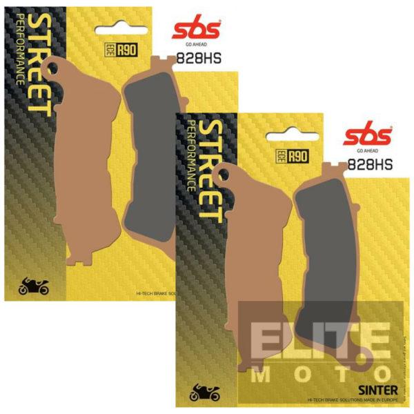 SBS 828HS Sintered Front Brake Pads