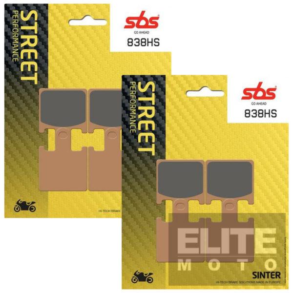 SBS 838HS Sintered Front Brake Pads