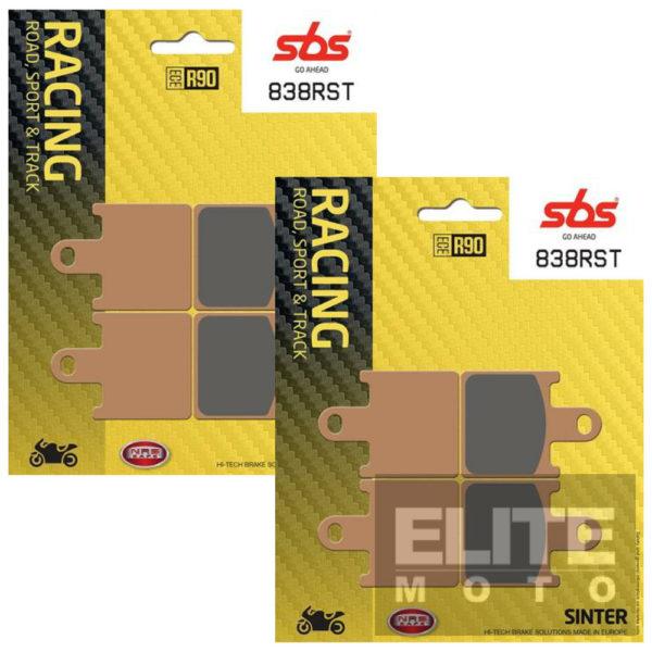 SBS 838RST Race Sinter Front Brake Pads
