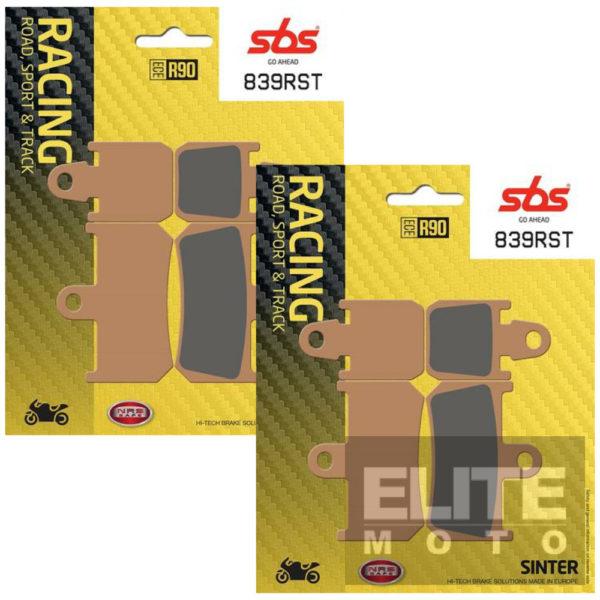 SBS 839RST Race Sinter Front Brake Pads