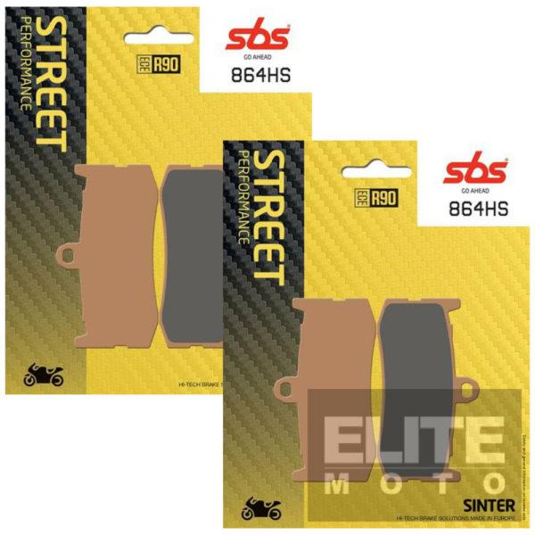 SBS 864HS Sintered Front Brake Pads
